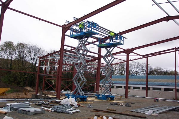 Steelwork erection London
